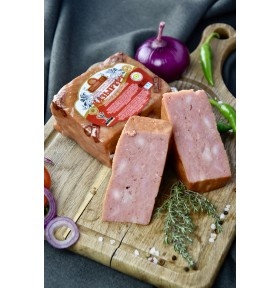 Варено-копченый мясной хлеб «Қазығұрт» | Цена указана за 1 кг.